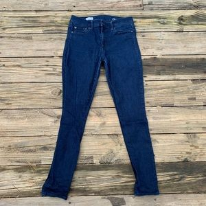 GAP   Womens Dark Wash True Skinny Jeans Size 29R